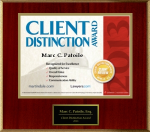 2012 Client Distinction Award